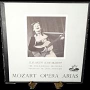 Elisabeth Schwarzkopf Performs Mozart Opera Arias w/ the Philharmonia Orchestra