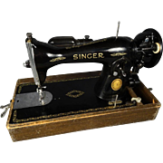 Singer Model 15-91 Electric Sewing Machine with Reversible Feed