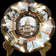 American Monuments Commemorative Dish