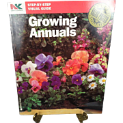 Growing Annuals By Lawn And Garden Softcover 1992