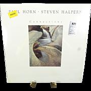 Paul Horn - Steven Halpren - Connections LP Vinyl Record 1984
