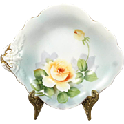 Noritake Made In Japan Trinket / Candy Dish With Gold Trim Circa 1920's-1940's