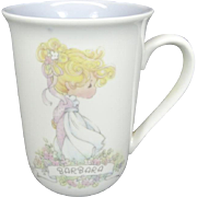 Precious Moments Barbara Personalized 1989 Mug