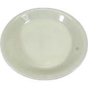 "Fire King Milk Glass 9"" Pie Plate"