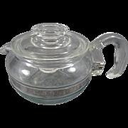Pyrex Flameware Teapot & Lid