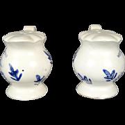 Salt & Pepper Shakers West Virginia Ceramic
