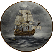 The Flying Dutchman by A.D'Estrehan - Legendary Ships of the Seas Plate Collection - includes