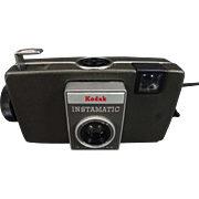 Kodak Instamatic S-10 Camera with Carrying Case and Extra Parts