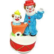"Gorham Vintage Clown Music-Go-Round Playing ""When the Saints"""