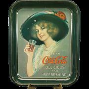 Vintage Coca-Cola Tin Serving Tray