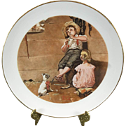 Norman Rockwell The Music Master Collector's Plate c. 1980