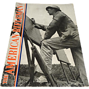 American Rifleman magazine August 1942