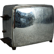 Vintage Toastmaster Model 1B21 Automatic Popup with Lighten/Darken Switch 1950s