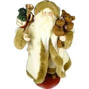 """16"""" St.Nick Collectible Soft Sculpture Doll/Figurine With Stand."""