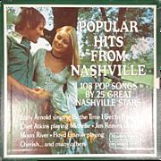 "Vintage Reader's Digest 'Popular Hits From Nashville""  9 Vinyl Album Box Set"
