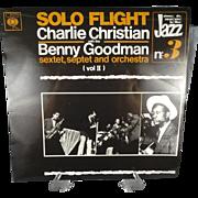 Vintage Charlie Christian Vol II  Vinyl Record Album With  Benny Goodman