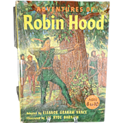 Adventures of Robin Hood By Eleanor Graham Vance  1953