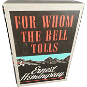 For Whom The Bell Tolls by Ernest Hemingway 1968  Edition