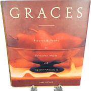 Graces Prayers and Poems for Everyday Meals and Special Occasions by June Cotner  1994