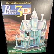 1994 Milton Bradley Victorian House Puzz 3 D Jigsaw Puzzle