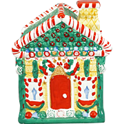 Candy House Cookie Jar