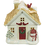 St. Nicholas Square Winter Wishes Cookie Jar