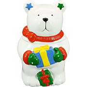 FWC The Cooks Bazaar Polar Bear Cookie Jar