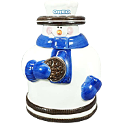 Houston Harvest Oreo Snowman Cookie Jar