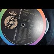 Puccini/Gianni Schicchi Tito Gobbi/Victoria De Los Angeles on LP Vinyl Record
