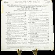 Three Mantovani Recordings on LP Vinyl Record