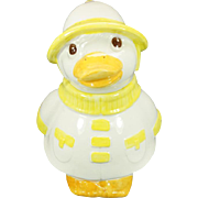 Vintage Metlox Puddles The Duck Cookie Jar California Usa