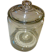 1920's Original Country Store Penny Candy Glass Display Jar
