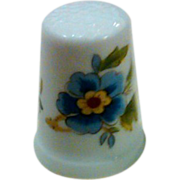SALE Royal Grafton - Made in England - Bone China Hand Painted Thimble
