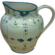 Portugal Hand Painted Marques - Maviera Water Pitcher