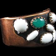 "Uncommon MATISSE Renoir SCARAB"" Cuff Bracelet"""