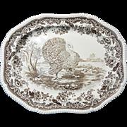 SOLD Large Copeland Spode Turkey Platter