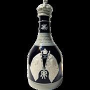 Copeland Spode George V Coronation Whiskey Bottle/Decanter