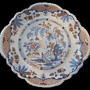 Ridgway Ironstone Dessert Plate in Imari Colors