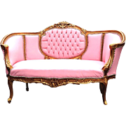 FRENCH LOUIS XVI SOFA/COUCH/ BENCH