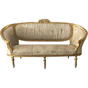 Louis XVI sofa made in courbé form