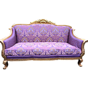 Amazing sofa in Louis XVI style, high quality