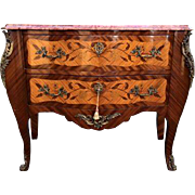 19th century unique French Louis XVI commode