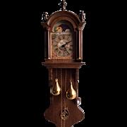 Unique Dutch wall clock