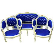 Amazing marquizes Louis XVI French style, sofa and 2