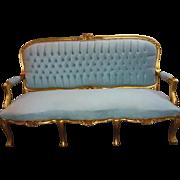 Louis XV elegant sofa