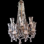 Special chandelier in Louis xvi style