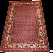 SALE Persian handmade Malayer Oriental Rug circa 1920 , 6.7 x 4.3