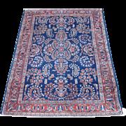 REDUCED Antique Persian Lilian Oriental Rug circa 1910 , 6.6 x 5.1