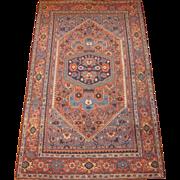 SALE Antique Persian Bidjar Oriental Rug , Kurdistan Region , circa 1900 , 7.7 x 4.8