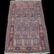 REDUCED Persian handmade Malayer Oriental Rug circa 1920 , 6.5 x 4